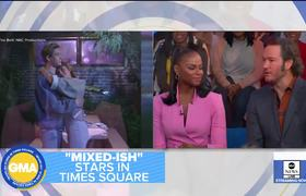 Mark-Paul Gosselaar and Tika Sumpter talk new show, 'Mixed-ish'