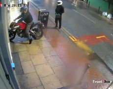 Shocking Footage Shows Arson Attack at Shop in Manchester