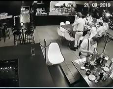 Difunden video de ataque a bar de Uruapan
