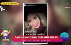 Fallece hija de Rocío Sánchez Azuara