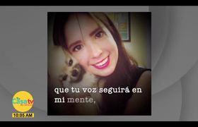 D.E.P Daniela hija de Rocío Sánchez Azuara