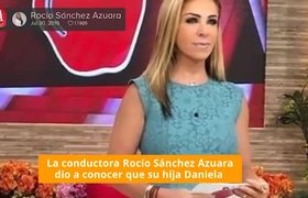Murió la hija de Rocío Sánchez Azuara, a los 31 años de edad