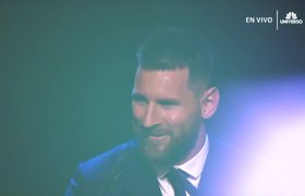 Lionel Messi wins first prize The Best of his career