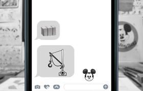 Steamboat Willie As Told By Emoji - Disney
