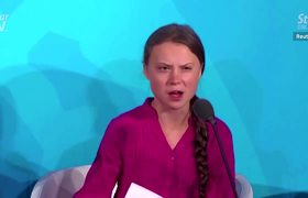 Greta Thunberg hits back at Donald Trump taunt
