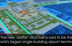 Huge New 'Starfish' Airport Officially Opens in Beijing