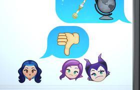 Descendants As Told By Emoji | Disney