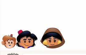Aladdin contada con Emoji | Disney