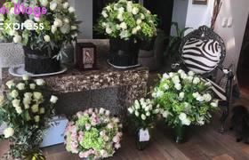 Así fue la ceremonia donde Rocío Sánchez Azuara Despidió a su hija.