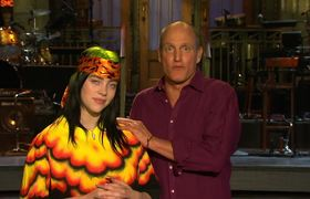 SNL: Is a Big Night for Woody Harrelson and Billie Eilish