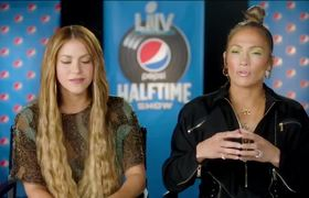 Jennifer Lopez & Shakira - Interview For Super Bowl 2020