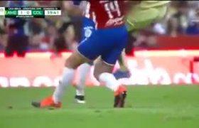 Lesión de Giovani Dos Santos. América vs Chivas 2019.
