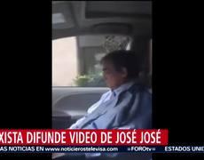 Taxista difunde video inédito de José José