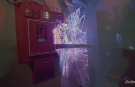 Ghostbusters Maze at Universal Studios Hollywood Halloween 2019