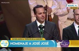 Homenaje a José José: Algún día volveré a ver a mi padre: José Joel