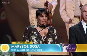 Marysol Sosa hija de José José asegura que tuvo un gran padre