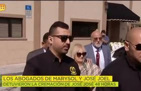 ¡YA REACCIONARON! Al parecer, abogados de José Joel y Marysol detuvieron la cremación