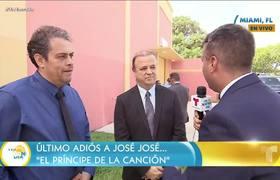 José José: Papá de Camila Cabello asiste al homenaje
