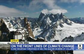 Europe's most iconic #mountain is a climate change warning