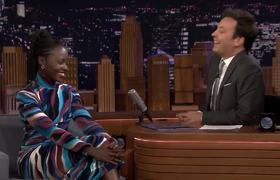 The Tonight Show: Lupita Nyong'o's Rapping Alter Ego