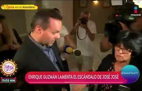 Enrique Guzmán indignado por la polémica entre los hijos de José José