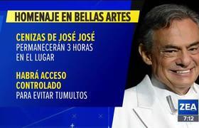 Hoy se dará el último adiós a José José en Palacio de Bellas Artes |