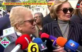 Tina Galindo, Roberto Cantoral y Poncho Lizarraga se despiden de José José