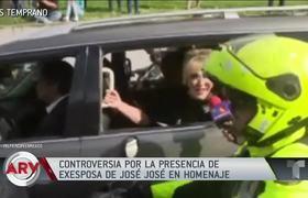 José José: Presencia de Anel Noreña causa controversia en homenaje