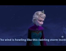 FROZEN | Let It Go Sing-along | Official Disney