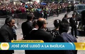 José José: su tributo en la Basílica de la Guadalupe