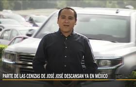 Parte de las cenizas de José José descansan ya en México