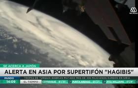 Supertifón Hagibis enciende las alarmas en Japón