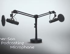 Father-Son Podcasting Microphone #SNL