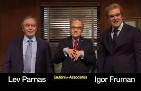 Cut for Time: Giuliani & Associates #SNL