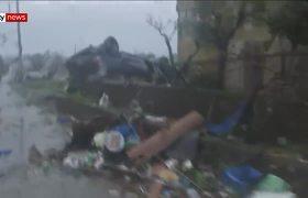 Dos muertos tras el paso del tifon Hagibis