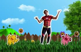 Wapayasos y Horripicosos HOLA LOLA ( Vaca ) Video Oficial
