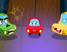 Prepare for Fright | Little Red Car | Halloween Songs & Kids Rhymes