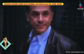 Sergio Mayer da 'carpetazo' a tema de las regalías de José José