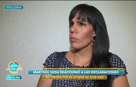 Marysol no sabía que José José no quería a Sarita con el control de su dinero