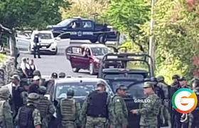 Terrible Balacera en Iguala , Guerrero