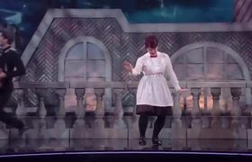 Kate Flannery's Jazz - Dancing with the Stars #DisneyNight