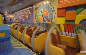 Slinky Dog Coaster Night POV - Toy Story Ride - Disney World