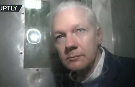 Julian Assange goes to court and returns to prison