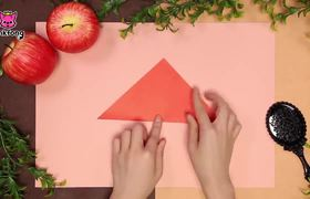 Snow White's Ribbon | Origami | Crafts for Children