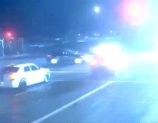 #VIDEO: Couple with Buggy Narrowly Escape Horrific Car Crash in Phoenix!