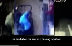 #OMG: Three-Year-Old MP Boy Unhurt After 35-Foot Fall Into Rickshaw Seat