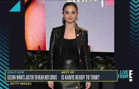 Selena Gomez Hopes Justin Bieber Hears Her New Songs
