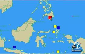 Philippines earthquake: Magnitude 6.8 quake shakes southern Philippines