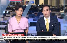Quake kills at least 6 in southern Philippines