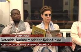 ARRESTADA Karime Macías, esposa de Javier Duarte
